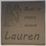 Lauren         memory marker