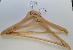 Custom         printed hangers