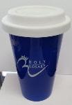 Custom etched Travel Mug with lid